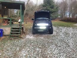 42 In Led Light Bar by Mounting A Light Bar Behind The Grill Ford F150 Forum