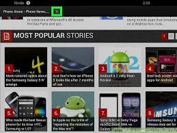 close tabs kindle fire 6 steps pictures