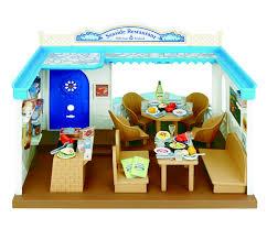 sylvanian families seaside restaurant ebay