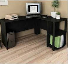 Black Corner Computer Desks For Home Computer Corner Desk L Shaped Workstation Home Office Student