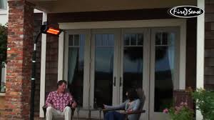 electric infrared patio heater electric infrared outdoor heater learn how it works youtube