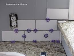 how to create a subway tile backsplash the contractor chronicles