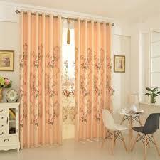orange bedroom curtains beautiful and decorative orange bedroom curtains with flower patterns