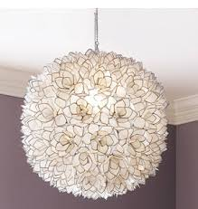 Capiz Light Pendant How To Make A Diy Hanging Capiz Shell Pendant Chandelier