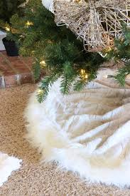 white tree skirt faux fur christmas tree skirt christmas cards