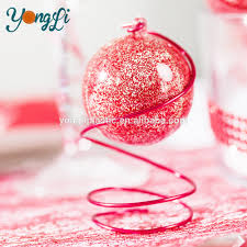 diy fillable plastic ball craft ornaments 50mm clear acrylic ball