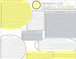 bridal registry checklist printable baby gift registry checklist bedroom sle 9 exle format carum