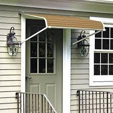 Fabric Door Awnings Door Canopies U0026 Window Awnings Ct Aluminum Fabric Wood