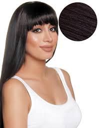 clip on bangs cleopatra clip in bangs black 1b bellami bellami hair