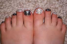 diy toe nail art on a budget simple at diy toe nail art home ideas