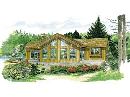 A Frame Home Floor Plans Colgate Rustic A Frame Home Plan 062d 0049 House Plans And More