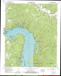 Map Of Tennessee State Parks by Pickwick Topographic Map Tn Al Usgs Topo Quad 35088a2
