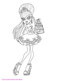monster coloring pages draculaura 97 coloring