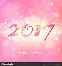 happy new year backdrop happy new year 2017 on pink abstract background stock vector