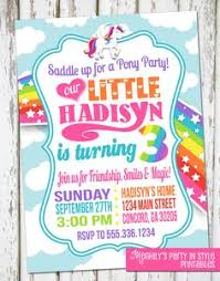 my little pony invitation printable birthday by tweetprints