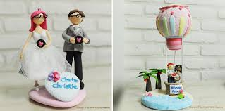 award for most unique wedding cake toppers