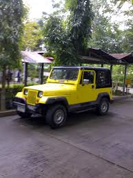 jeep type pinoy wrangler jeep yellow pinoy made wrangler type jeep flickr