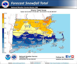 Boston Snow Total Map by Snow Storm To Bring 6 8
