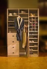 closets to go her reach in closet organizer custom closet