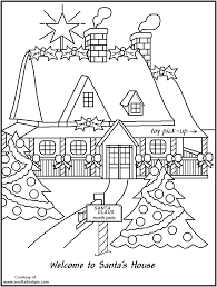 north pole printable coloring pages white house coloring