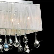 Chandelier With Black Shades Brizzo Lighting Stores 40