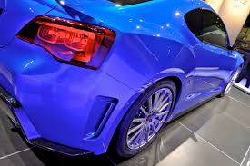 ricer subaru brz subaru brz concept sti live photos from la auto show and new