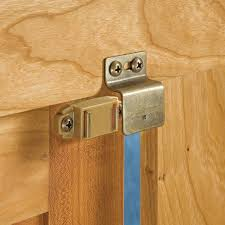 Cabinet Door Magnetic Latch Cabinet Locks And Latches Rockler Woodworking And Hardware