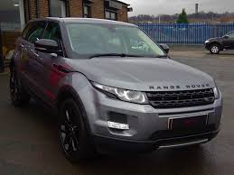 land rover evoque black used 2013 land rover range rover evoque sd4 pure tech for sale in