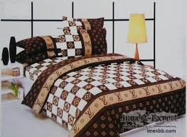 Louis Vuitton Bed Set Chanel Pillows Gucci Bedsheets Comforters Bed Set China Supply