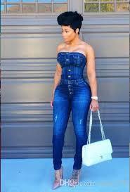 jean jumpsuit 2017 arrival blue jean fashion jumpsuits