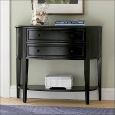 Narrow White Console Table Furniture Awesome Foyer Table With Drawers Black Console Table
