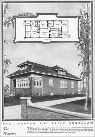 chicago bungalow floor plans 1925 chicago style bungalow vintage house plan for a small house