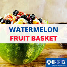 how to make a fruit basket how to make a watermelon fruit basket drericz