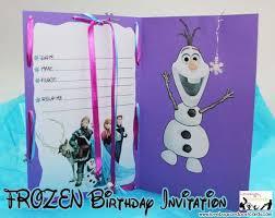 disney frozen birthday invitation with free printables