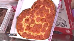 shaped pizza for s day kxan