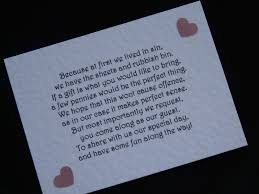 handmade wedding gift money poems for wedding invitations insert