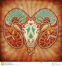 grunge zodiac aries stock illustration image of sign 15826656
