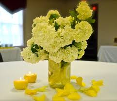 Mason Jar Arrangements Sliced Lemon In Mason Jar Centerpieces Budget Brides Guide A