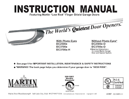 marantec m 4700 instruction manual