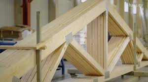 prefabricated roof trusses q haus video roof trusses youtube