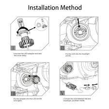 how to install led lights in car headlights led auto light h4 led h4 led bulb h4 led bulb h7 led bulb h11