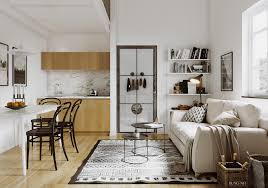 small apartment scandinavian style