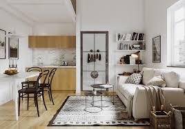 scandinavian style small apartment scandinavian style