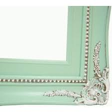 mint green wedding frame home decor ornate shabby chic pictu