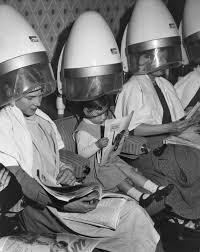 sissy boys under hair dryers vintage hair dryer photos that make it seem cool under the hood