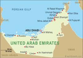 map of the uae united arab emirates map united arab emirates travel maps from