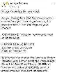 Front Desk Jobs Hiring by Category Food Restaurant Jobs Hiring In Iloilo And Abroad