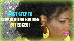 weak hair edges stimulating stunt hair growth for thin edges nezinapps youtube