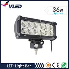 led tractor light bar china 6 5 36w off road led driving light led light bar for jeep