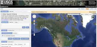 Usgs Wildfire Data by From Gis To Remote Sensing How To Download Landsat 8 Data From